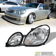 For LH 1998-2005 Lexus GS300 GS400 GS430 Headlight lamp 98-05 - Driver Left Side