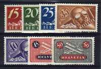 SUISSE SWITZERLAND Yvert Poste Aérienne n° 3/9 neuf avec charnière