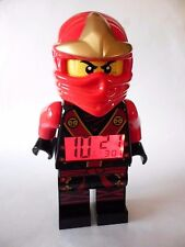 Lego Ninjago Kai Alarm Clock Masters of Spinjitzu Red Ninja