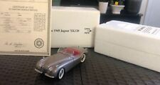 DANBURY MINT 1949 JAGUAR XK120..1:24..MIB.. With Certificate Of Title