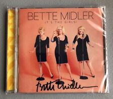 Bette Midler It's The Girls Autographed Unopened Original CD