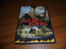 In the Name of the King: A Dungeon Siege Tale (DVD, 2008) Jason Statham Used