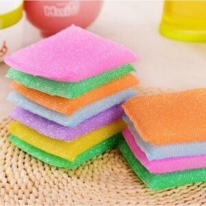 Cleaning Cloth 4 PCS/ Kitchen nonstick oil scouring pad cleaning cloth
