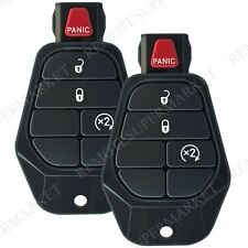 2 Replacement for Dodge 2008 Magnum 2009-2010 Ram Remote Car Key Fob Entry 4b