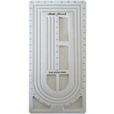 PLASTIC MULTI-CHANNEL BEADING BOARD ~ Craft Jewelry Making Supplies Necklaces