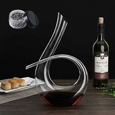More details for wine gifts, wine accessories wine breathing decanter crystal wine decanter