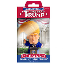 PRESIDENT DONALD TRUMP TROLL Doll - Hair To The Chief - Make America Great Again