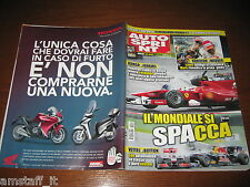 AUTOSPRINT 2010/35=GP F1 BELGIO=HAMILTON=FABIO DANTI=NOVITA' BMW M3 GTS=