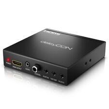 deleyCON SCART zu HDMI Konverter mit Audio Extractor SCART + HDMI Eingang auf HD