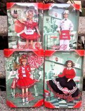 "Coca-Cola Soda Jerk Ken Doll Soda Fountain Barbie Cheerleader Car Hop"" Lot 4"