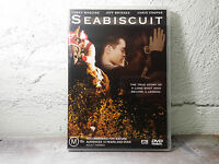 Seabiscuit DVD - Horses movie, True story, Jeff Bridges, Tony Maguire