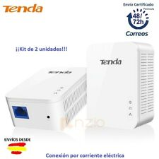 PLC POWERLINE REPETIDOR LAN RED WiFi 1000 Mbps TENDA P1000x2 EXTENSOR PLUG EU