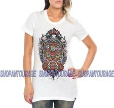 Secret Artist Sweet Dharmapala SW323 Short Sleeve Graphic Tattoo Top for Women