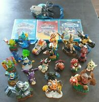3 Jeux Skylanders Wii U + 22 figurines (Trap Team, Superchargers, Imaginators)