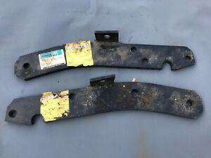 NOS GM C1500 GMC Chevy pickup truck rear bumper inner brackets 14014793 14014794