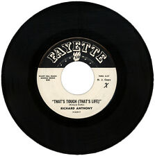 "RICHARD ANTHONY  ""THAT'S TOUGH (THAT'S LIFE)""  DEMO  NORTHERN SOUL  LISTEN!"