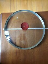 """T-Fal  Replacement Lid 10 3/4"""" Inner Rim Vented  Tempered Glass"""
