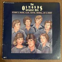 The Osmonds Greatest Hits Vintage Vinyl (1977 Polydor Double LP)