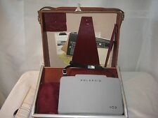 Vintage NEW Polaroid 103 Land Camera with Top Grain Cowhide Case Never Used