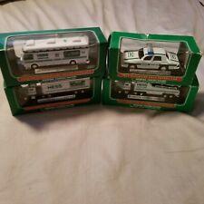 Hess mini toy trucks