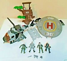 True Heroes Sentinel 1 Heli Base Pad 4 Soldiers Weapons Look Out Toys R Us