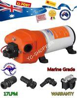 12V SEAFLO Marine Grade Water Pressure Pump 17LPM Caravan Boat RV Agriculture