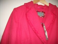 Per Una coat size 12, coral, new with tags 90% cotton10% viscose, lovely.