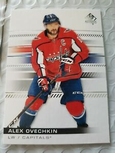 2019-20 Upper Deck SP Authentic #100 Alex Ovechkin - Washington Capitals