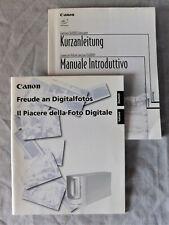 Original CANON CanoScan FS 4000US Bedienungsanleitung, deutsch + italienisch