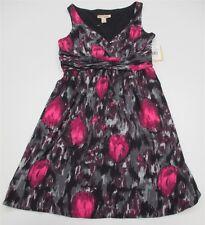 new JONATHAN MARTIN #DR1241 Women's Size 8P Empire Waist Formal Purple Dress
