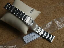 SEIKO 22mm SOLID BRUSHED STAINLESS STEEL WATCH STRAP 30081JM