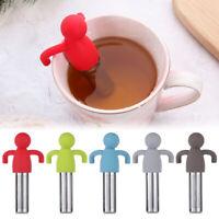 Teaware Little Man Shaped Teapot Filter Brewing Loose Leaf Strainer Tea Infuser