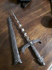 Silver Handled Egyptian athame/Dagger, Ritual Item, Wicca Pagan, Witch