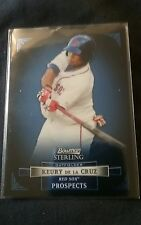2012 Bowman Sterling Keury De La Cruz Red Sox# bsp 45