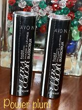 Avon True Color BOLD Lipstick POWER PLUM Satin Finish Discontinued *qty 1*