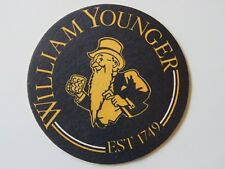 Beer Coaster ~ The Caledonian Brewery Company WILLIAM YOUNGER ~ Established 1749