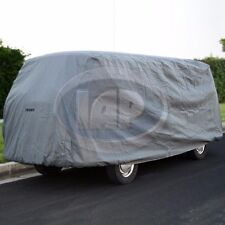 VW Bus Deluxe 4-Layer Car Cover with Cable & Lock Type 2 1950 thru 1979 AC100020