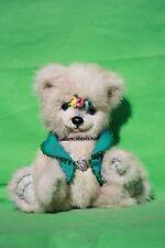"""Ooak 9 1/2"""" Mink Teddy Bear by Hana"""