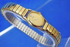 Vintage Seiko Cuarzo Reloj de Señoras 2C20-6399 alrededor de 1979 nuevo, nos, esfera Diamantes