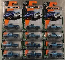 MATCHBOX 1975 CHEVY STEPSIDE PICKUP TRUCK 65TH ANNIVERSARY LOT OF 12 FREE SHIP