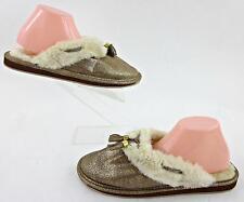 NEW! Sperry Top-Sider 'Savannah' Mule Slippers Tan Sparkle 11M