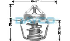 Thermostat for Jeep Grand Cherokee MX Mar 1996 to Jul 1999 DT14B