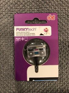 """DCI Funky Tech Mobile Device Charm """"Boombox""""  #38341"""