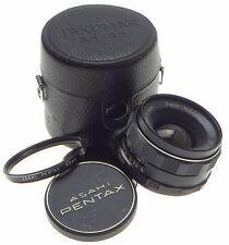 M42 PENTAX ASAHI SUPER TAKUMAR 1:3.5/35 SLR VINTAGE f=35mm FILM CAMERA LENS CAPS