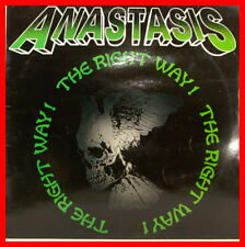 "ANASTASIS - THE RIGHT WAY 12"" LP VERDE VINILE (B517)"