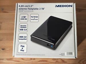 MEDION P83790 externe Festplatte 2 TB *NEU*