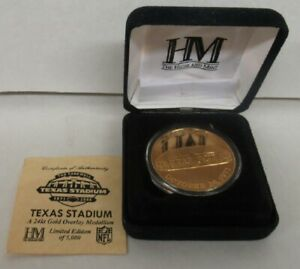 Dallas Cowboys Highland Mint Farewell Texas Stadium Medallion /5000 1971-2008