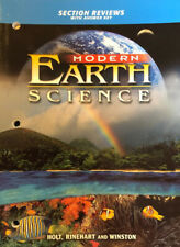 Modern Earth Science : Section Review with Answer Key