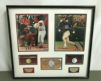 "TRISTAR ""A Piece Of History"" ~ McGWIRE/SOSA 1998 Game Used Bat Pieces ~ 31/298"