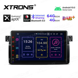 """9"""" Android 10.0 Car Stereo Radio GPS Octa Core Head Unit for BMW E46 Rover MG ZT"""